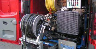 Nettoyeur Debouchage haute pression et kit déboucheur de canalisations